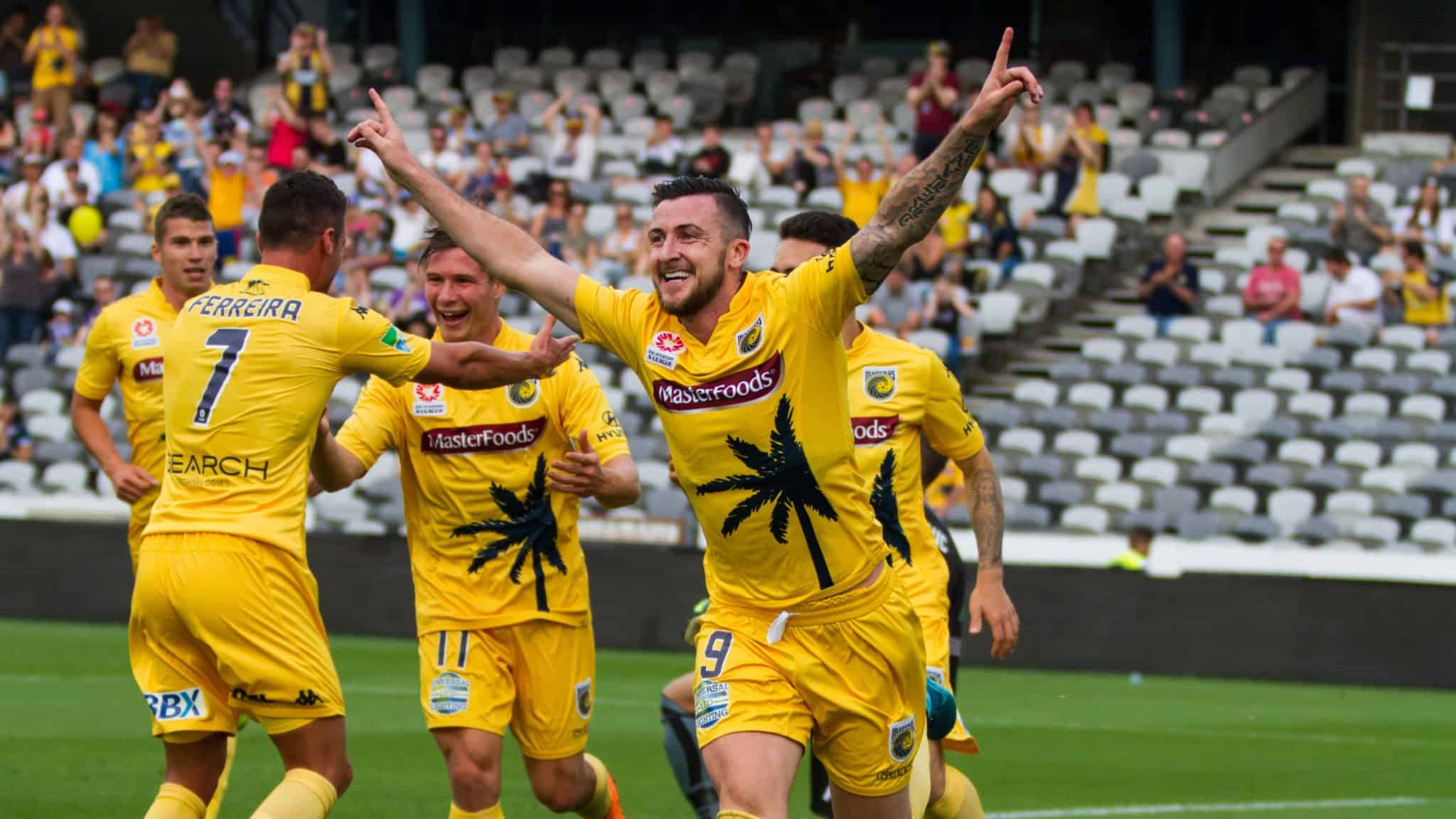 Central Coast Mariners v Wellington Phoenix