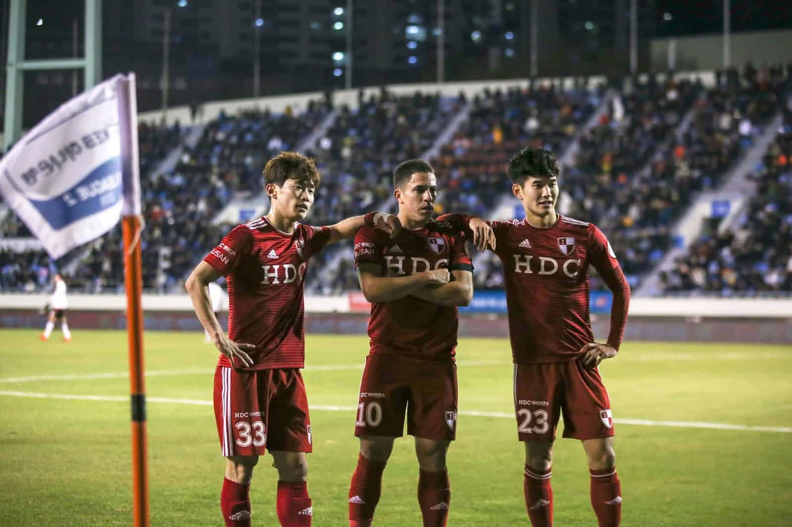 Busan IPark v FC Anyang - K2 League