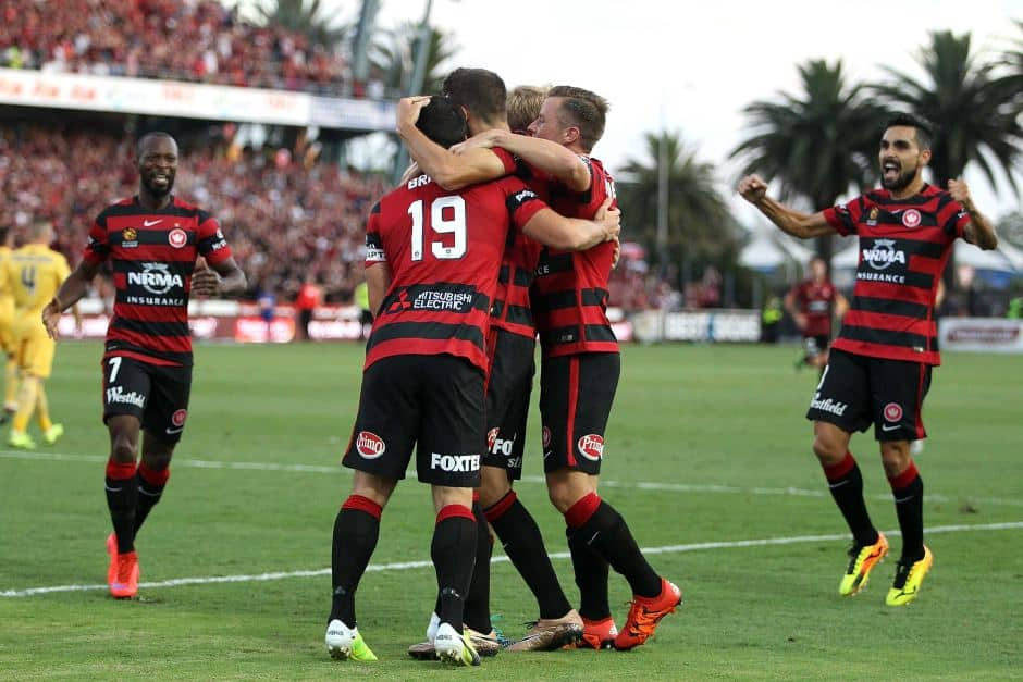 Western Sydney Wanderers v Central Coast Mariners - A League