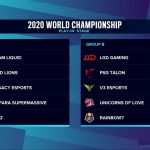 LoL Worlds 2020 Play-In – Day 5 Betting Previews and Predictions