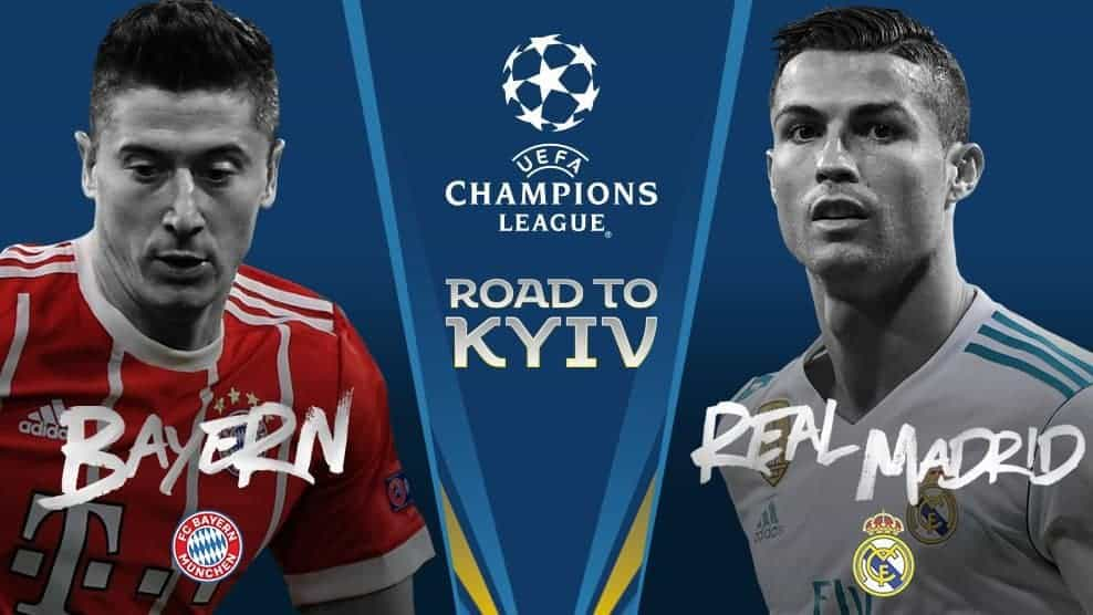 Real Madrid v Bayern Munich – Champions League Semi-finals