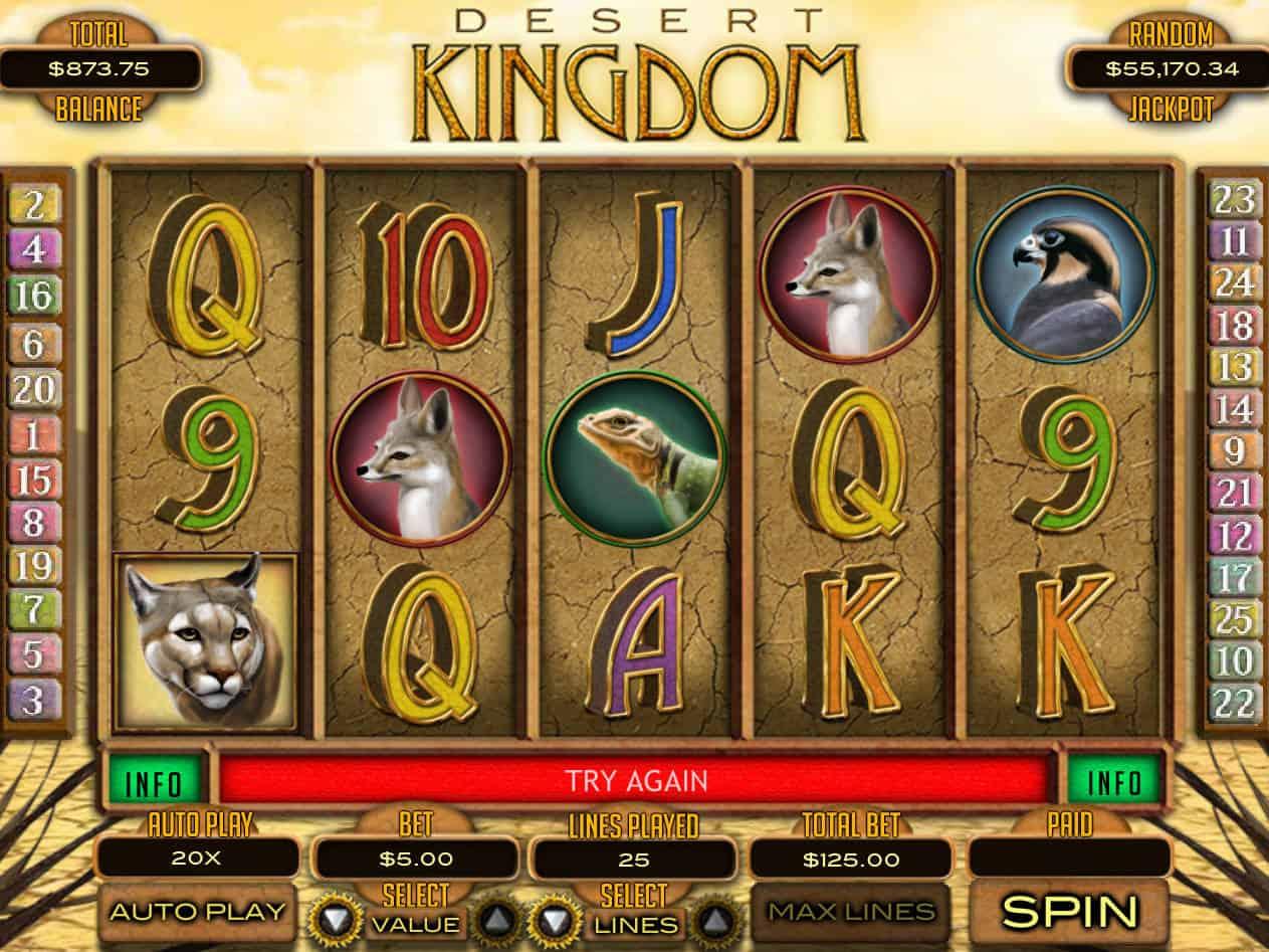 Desert Kingdom Slot Review