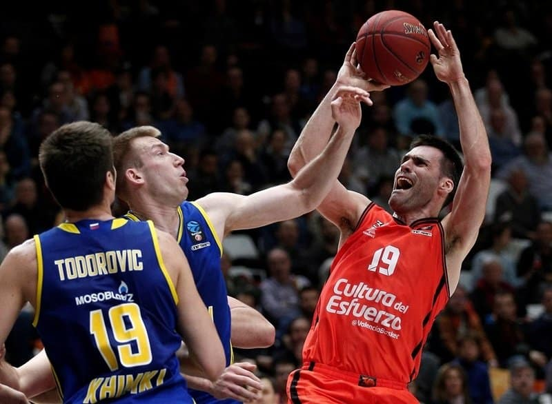 Khimki Moscow v Valencia - Euroleague