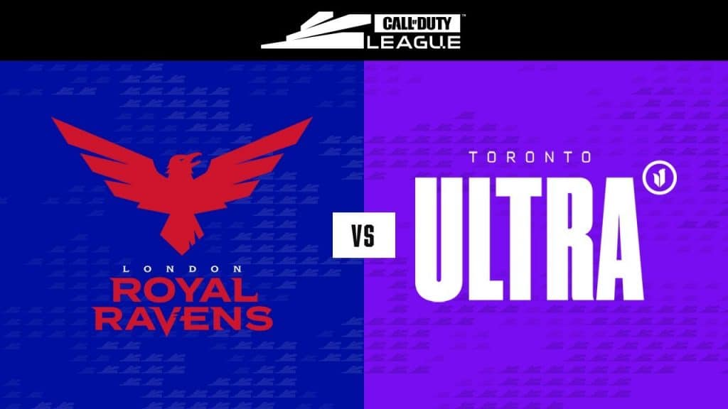 London Royal Ravens vs Toronto Ultra - Call of Duty League Betting Preview