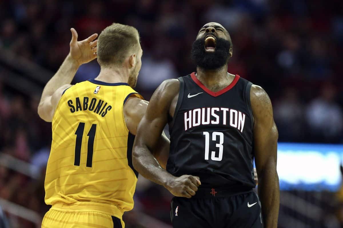Indiana Pacers vs Houston Rockets - NBA